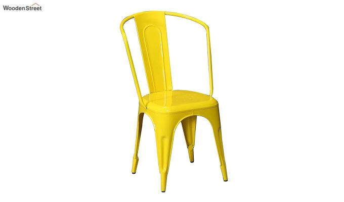 Costa Metal Chair (Yellow)-2