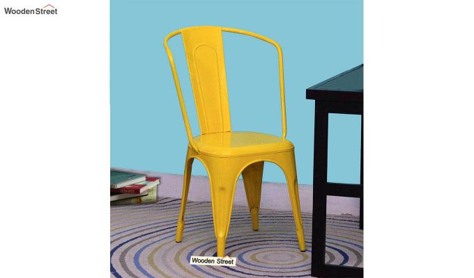 Costa Metal Chair (Yellow)-1