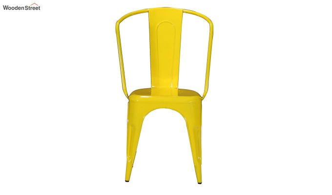 Costa Metal Chair (Yellow)-3
