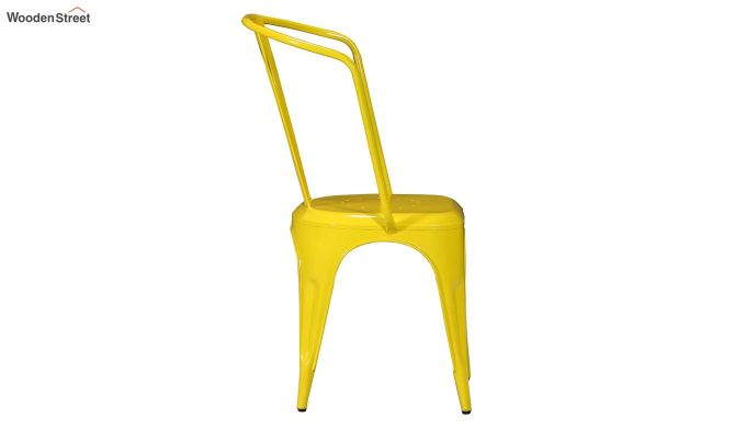 Costa Metal Chair (Yellow)-4