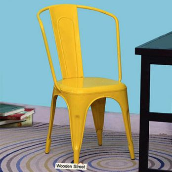 Costa Metal Chair (Yellow)