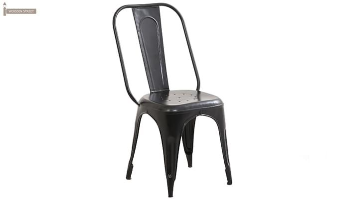Elsby Iron Chair (Black)-1