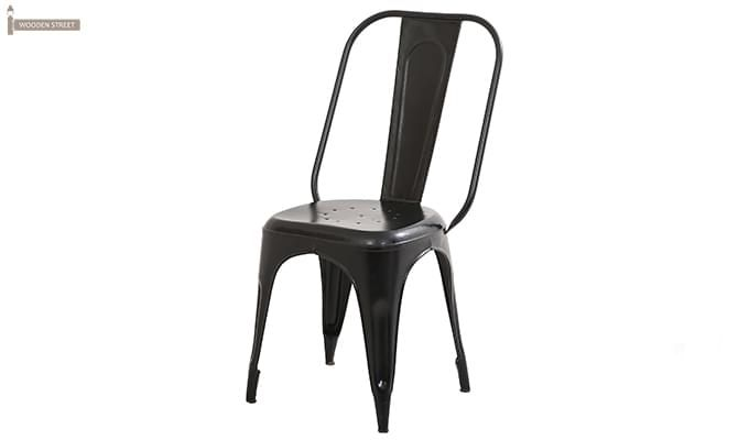 Elsby Iron Chair (Black)-3