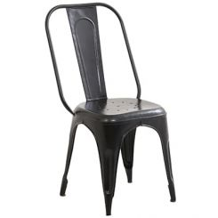 Elsby Iron Chair (Black)