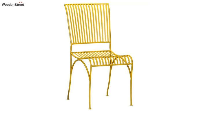 Euan Metal Chair (Yellow)-1