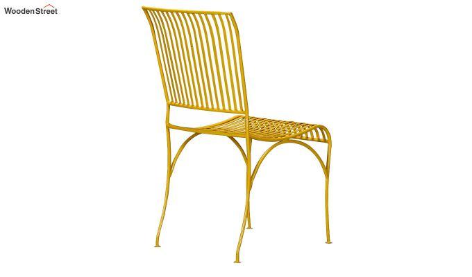 Euan Metal Chair (Yellow)-2