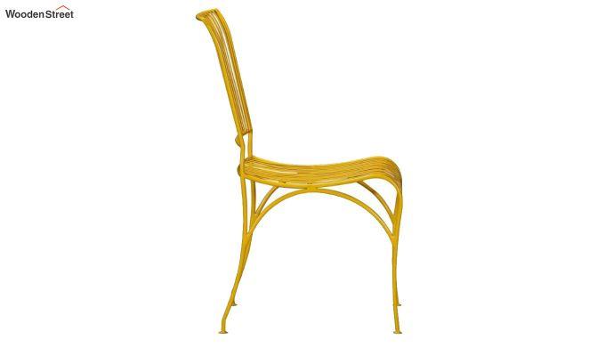 Euan Metal Chair (Yellow)-3