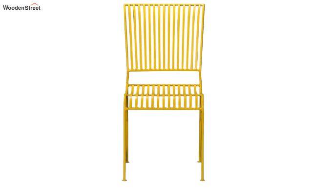 Euan Metal Chair (Yellow)-4