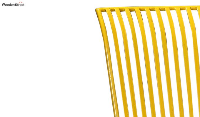 Euan Metal Chair (Yellow)-5