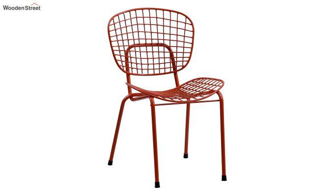 Gregor Metal Chair (Orange)-2