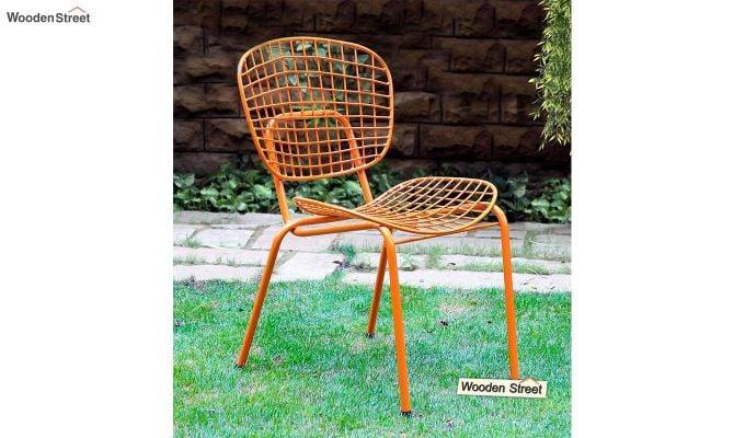 Gregor Metal Chair (Orange)-1