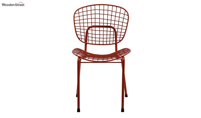 Gregor Metal Chair (Orange)-3