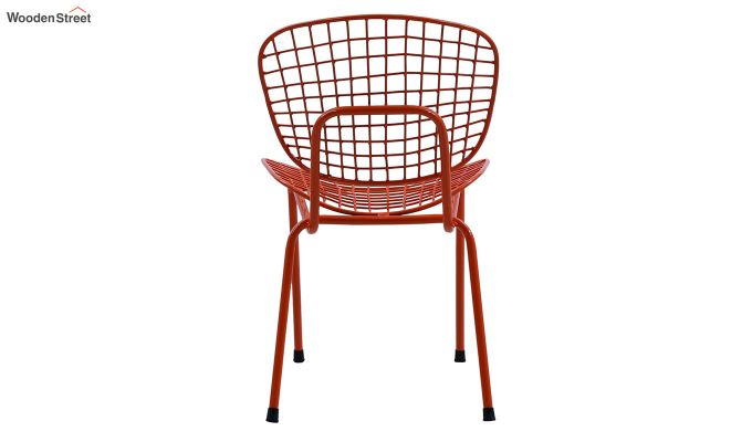 Gregor Metal Chair (Orange)-4