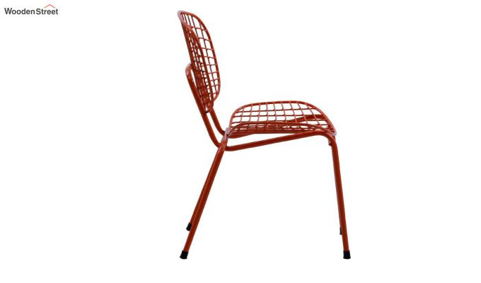 Gregor Metal Chair (Orange)-5