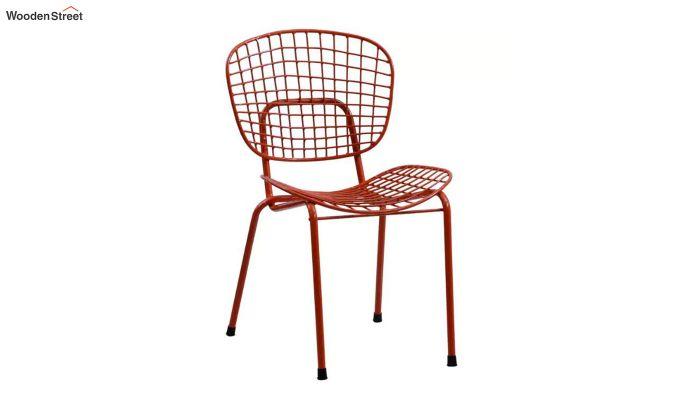 Gregor Metal Chair (Red)-1