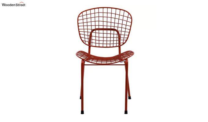 Gregor Metal Chair (Red)-2