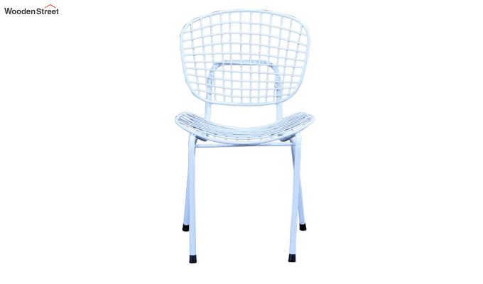 Gregor Metal Chair (White)-2