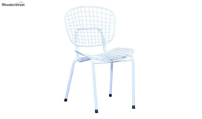 Gregor Metal Chair (White)-3