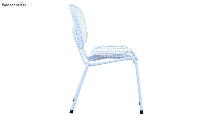 Gregor Metal Chair (White)-4