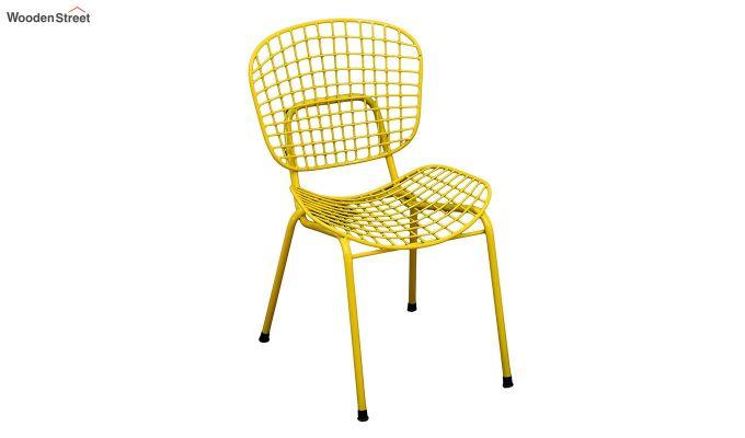 Gregor Metal Chair (Yellow)-2