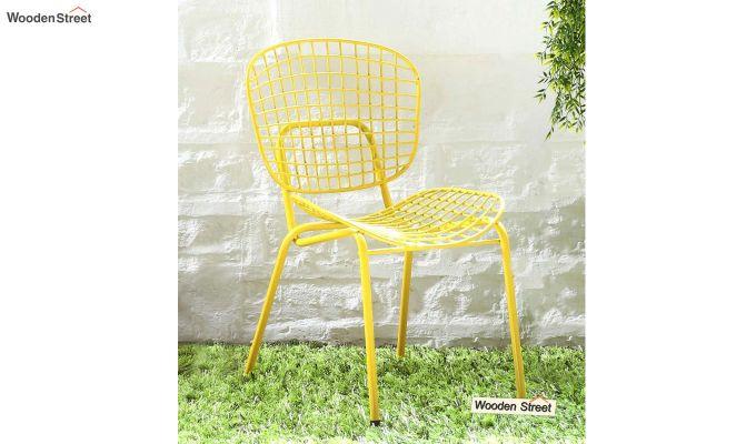 Gregor Metal Chair (Yellow)-1