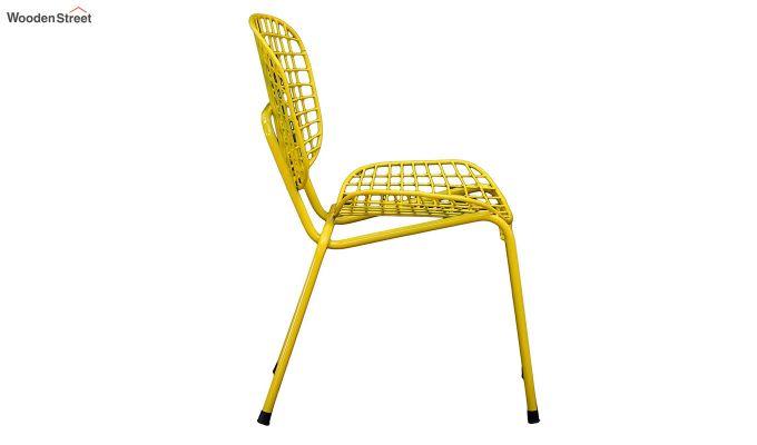 Gregor Metal Chair (Yellow)-4