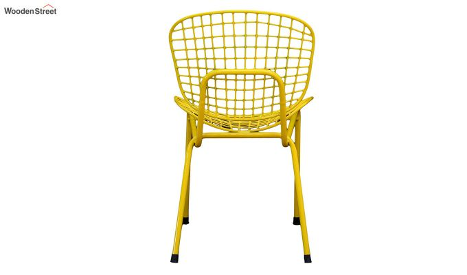 Gregor Metal Chair (Yellow)-5