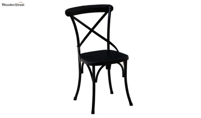 Stella Iron Chair (Black)-2