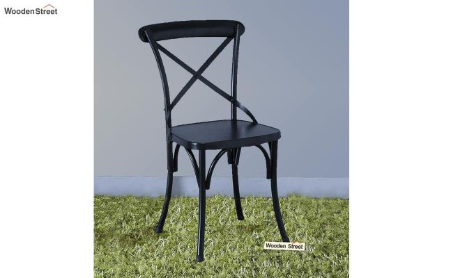 Stella Iron Chair (Black)-1