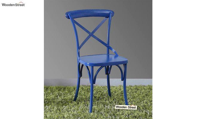 Stella Iron Chair (Blue)-1