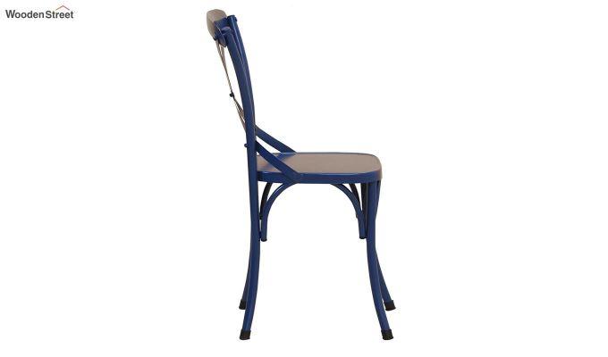 Stella Iron Chair (Blue)-4