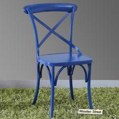 Stella Iron Chair (Blue)