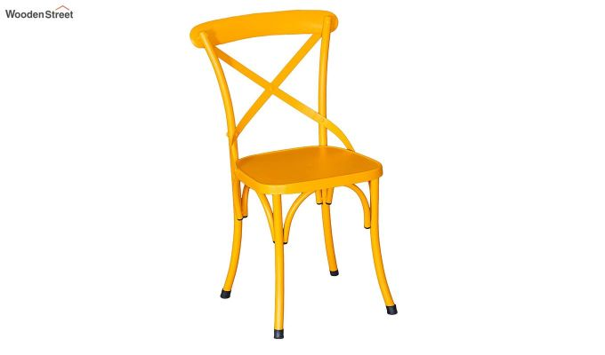 Stella Iron Chair (Yellow)-2