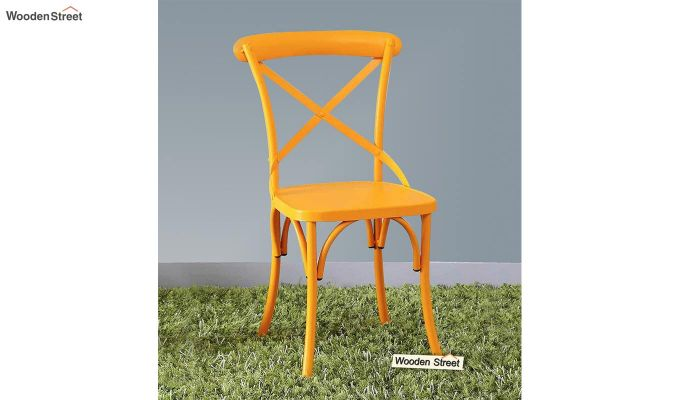 Stella Iron Chair (Yellow)-1