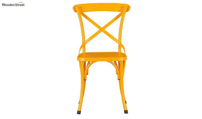 Stella Iron Chair (Yellow)-3