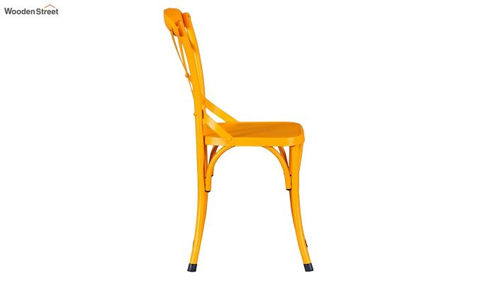 Stella Iron Chair (Yellow)-4