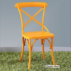 Stella Iron Chair (Yellow)