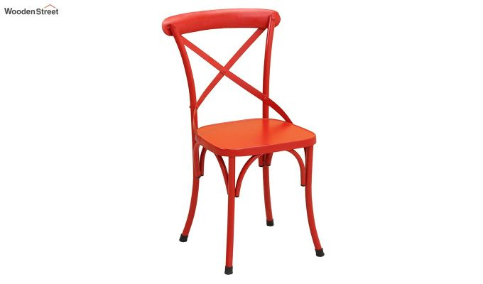 Stella Iron Chair (Red)-2