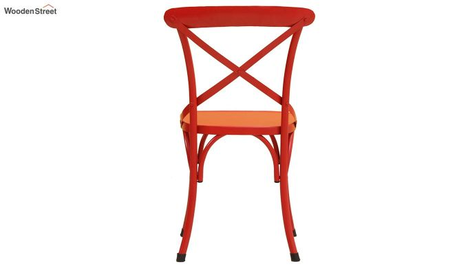 Stella Iron Chair (Red)-4