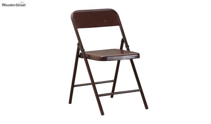Zoe Metal Chair (Brown)-2