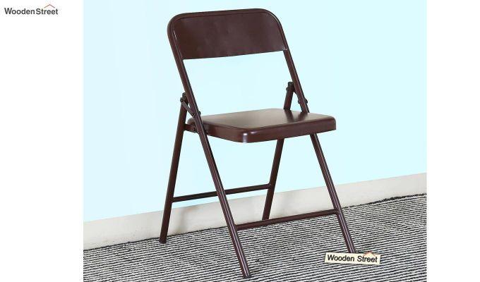 Zoe Metal Chair (Brown)-1