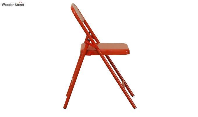 Zoe Metal Chair (Orange)-3