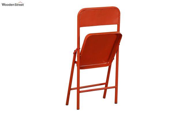 Zoe Metal Chair (Orange)-4