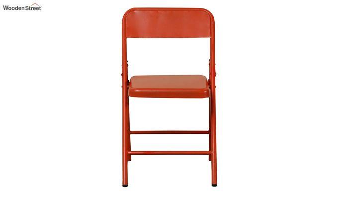 Zoe Metal Chair (Orange)-5