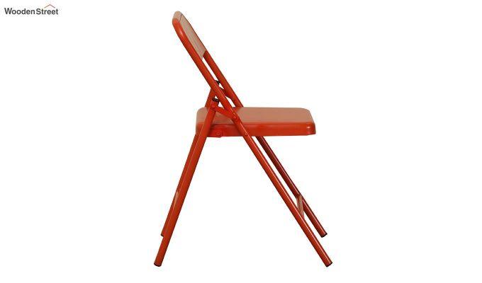 Zoe Metal Chair (Orange)-6