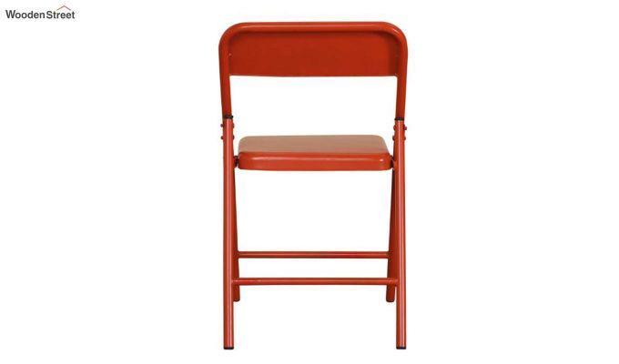 Zoe Metal Chair (Orange)-7