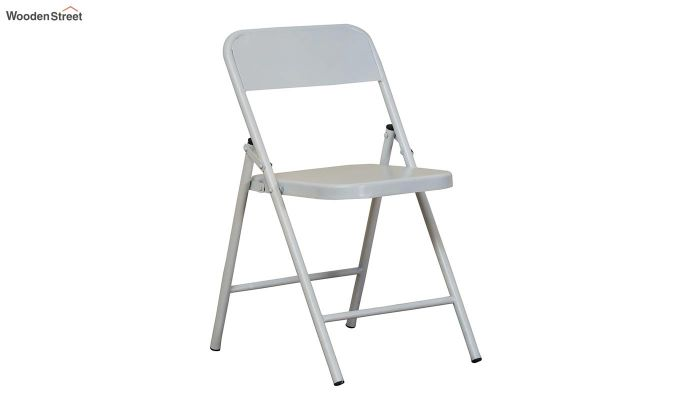 Zoe Metal Chair (White)-2