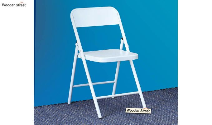Zoe Metal Chair (White)-1