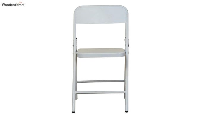Zoe Metal Chair (White)-3