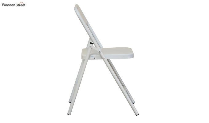 Zoe Metal Chair (White)-4